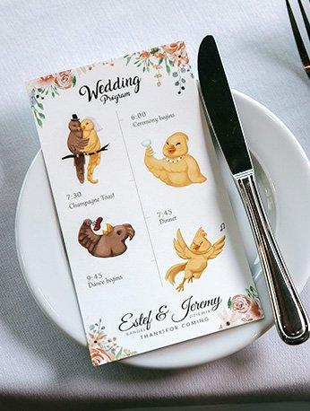 wedding-program-estefani-rangel-graphic-design