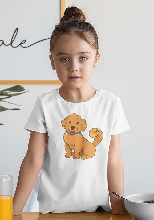 Dog retriever design tee