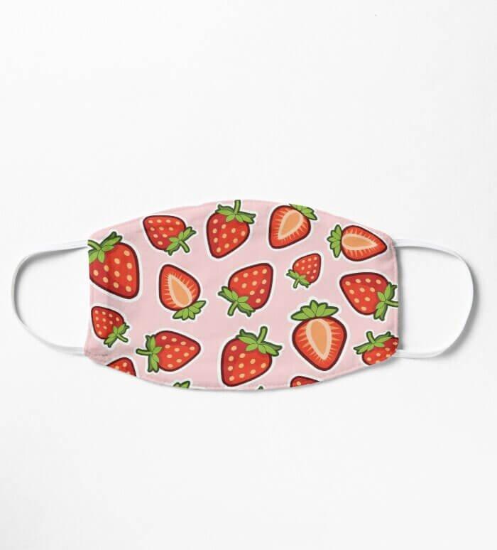 Mask Design Strawberry Explosion Mask only