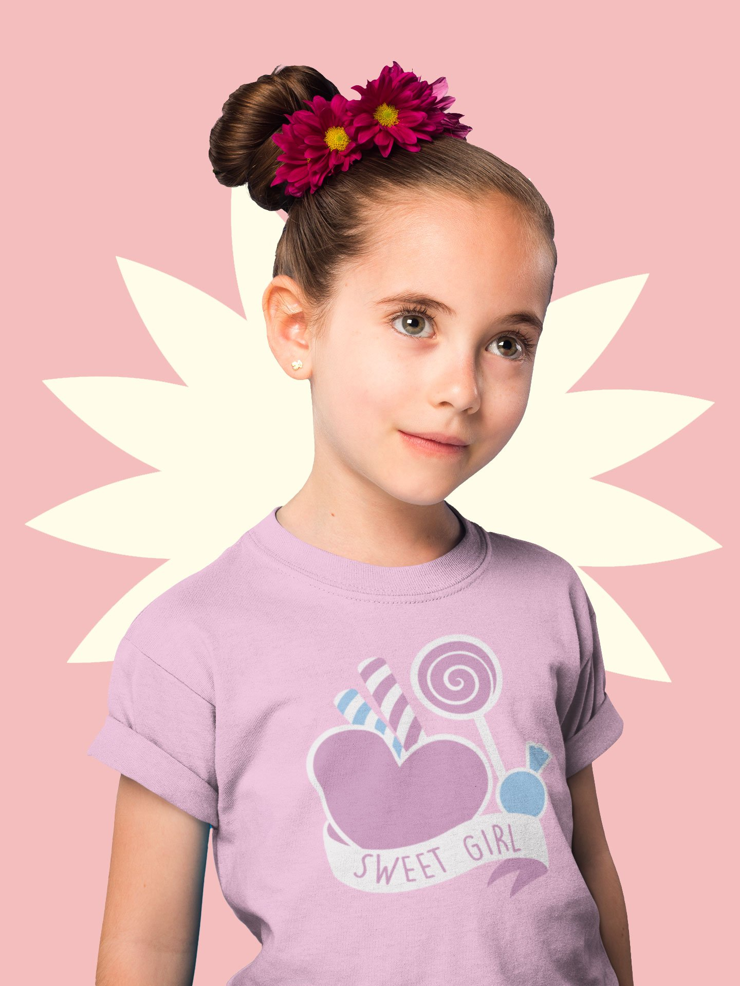 Sweet Girl design Tees for girls